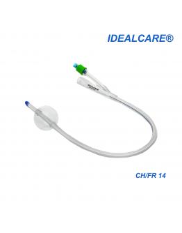 Idealcare All Silicone Foley Catheter