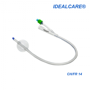 Idealcare All Silicone Foley Catheter
