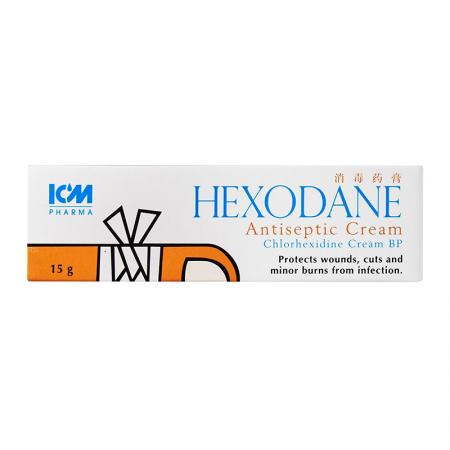 ICM Hexodane Antiseptic Cream 15g