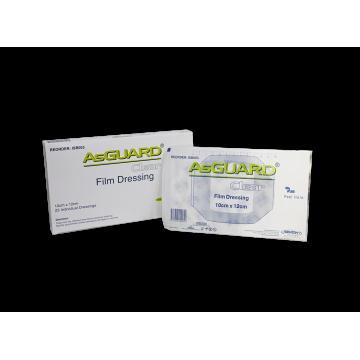 AsGUARD Clear Film Sterile Dressing - 10x12cm