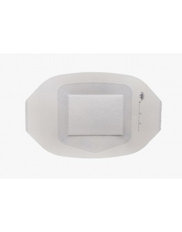 AsGUARD Clear Film Island Sterile Dressing - 10x12cm