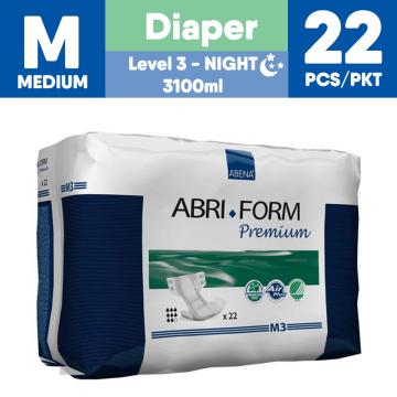 Abena Abri-Form Premium Adult Diapers - M3