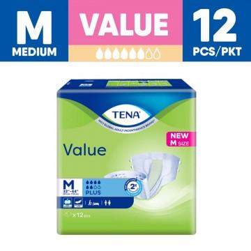 TENA Value Unisex Adult Diapers - M