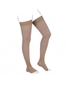 Venoflex Kokoon Thigh Stocking, Miel (Open Toe)