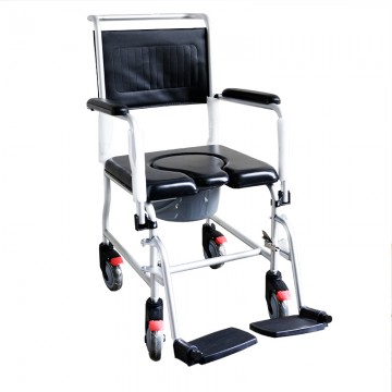 KJW-312L Detachable Aluminium Commode