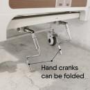 2 Crank Manual Split Hospital Bed