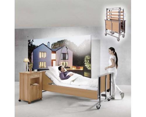 Domiflex Premium Nursing Bed, Continuous Side Rails