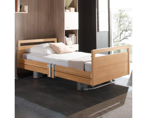 Livorno Premium Nursing Bed, Split Side Rails