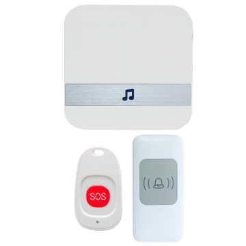 Wireless Elderly Call Bell with SOS Button