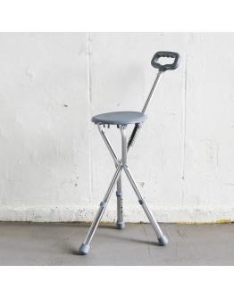 FS9112L Adjustable Walking Stick with Seat