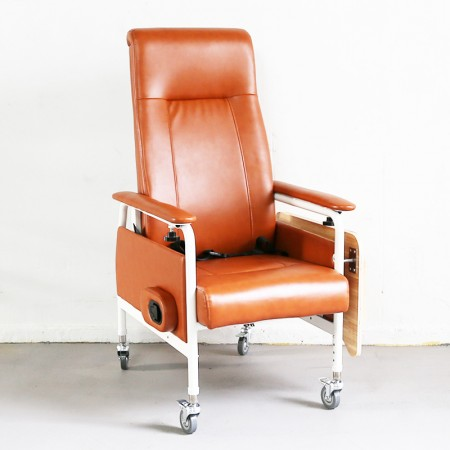 KW-W Reclining Geriatric Chair (Steel, With Wheels)
