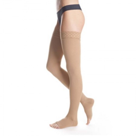 Maxis Micro Thigh Stockings (Open Toe)