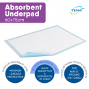 TENA Absorbent Underpads - Large