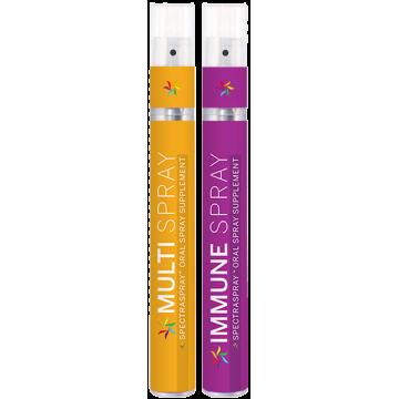 SpectraSpray - Multi + Immune Spray Vitamin Kit