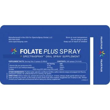 SpectraSpray - Folate Plus Spray Supplement
