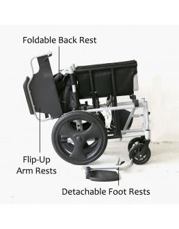 KY907 Detachable Wheelchair