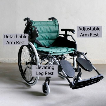 FS952 Detachable Elevating Wheelchair