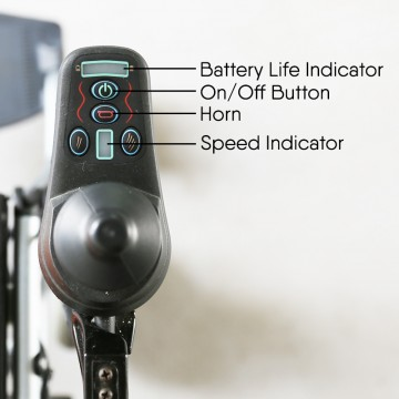 HBLD3-F (L)  Electrical Wheelchair