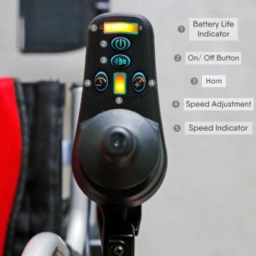 HBLD3-E (L)  Electrical Wheelchair